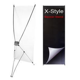 Banner X-Stand (Indoor Use)
